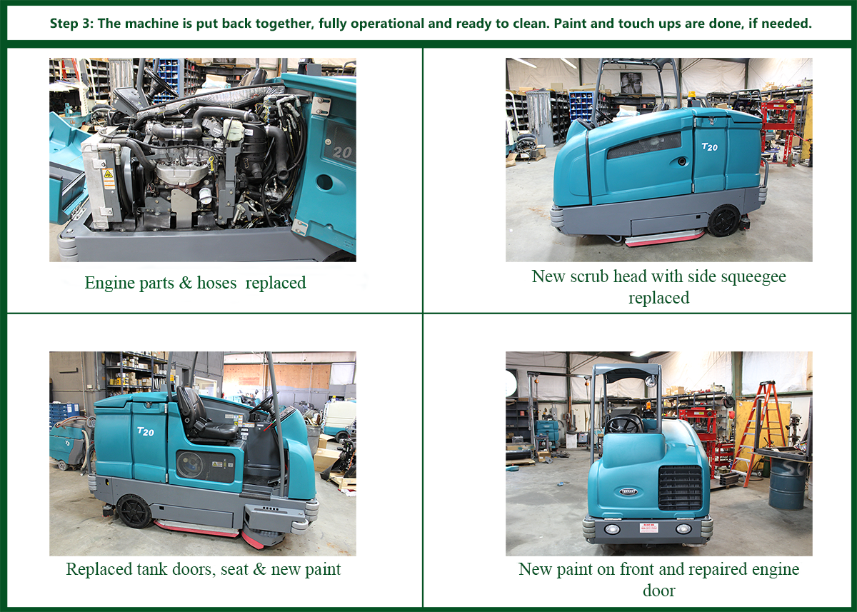 Reconditioned vs New Industrial Floor Cleaners - Southern