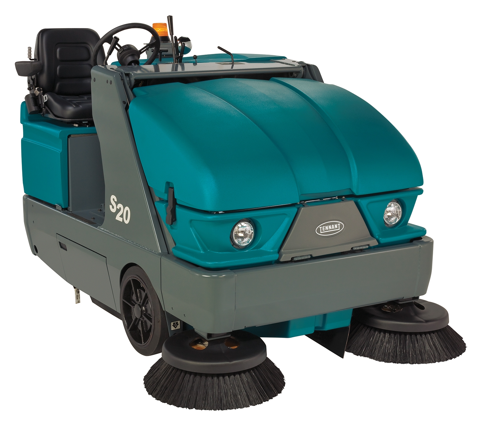 Tennant S20 Gas Lp Diesel Rider Sweeper